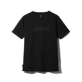 スノーピーク(snow peak) タイポグラフィカル Tシャツ 3 TS-19SU204 BK (Men's)