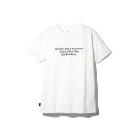 スノーピーク(snow peak) タイポグラフィカル Tシャツ 4 TS-19SU205 WH (Men's)