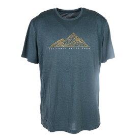 サロモン(SALOMON) 半袖Tシャツ AGILE GRAPHIC Tシャツ LC1287300 GRN (メンズ)