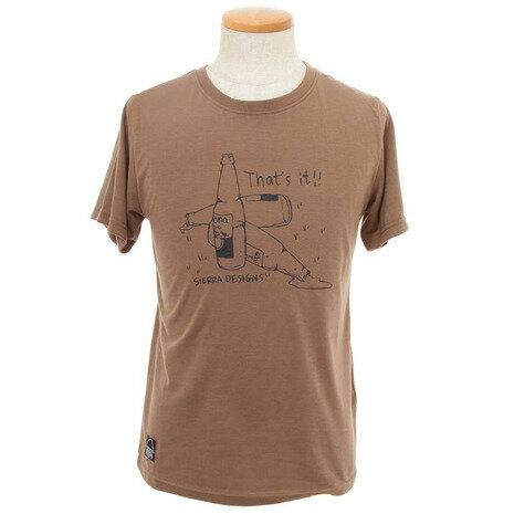 シェラデザインズ(SIERRA DESIGNS) 防虫 BEERTシャツ メンズ 半袖Tシャツ 20913226-70.BRN (Men's)