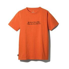 スノーピーク(snow peak) タイポグラフィカル Tシャツ 3 TS-19SU204 RD (Men's)