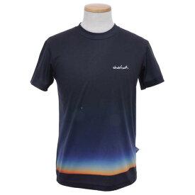 ホールアース(Whole Earth) 【多少の汚れ等訳あり最終処分】メンズ Landscape P 半袖Tシャツ NVY (Men's)