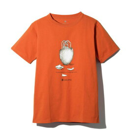 スノーピーク(snow peak) ギガパワーストーブ Tシャツ TS-19SU104 RD (Men's)