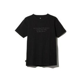 スノーピーク(snow peak) タイポグラフィカル Tシャツ 4 TS-19SU205 BK (Men's)