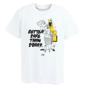 グリップスワニー(GRIP SWANY) ショートスリーブTシャツ BETTER SAFE 20SS WHITE (メンズ)
