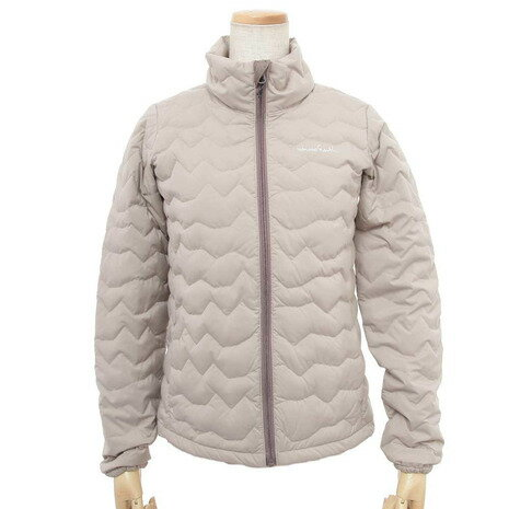 ホールアース(Whole Earth) Womens Ridgeline Jacket WEF16W02-5202 BEG ウィメンズ ダウンジャケット (Lady's)