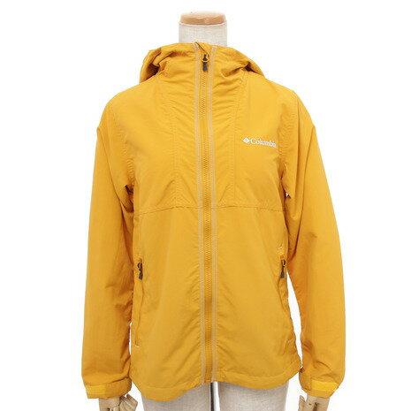 コロンビア(Columbia) ヘイゼン ウィメンズ ジャケット Hazen Women's Jacket PL3019 705 Golden Yellow 撥水 ソフトシェル (Lady's)