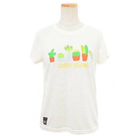 シェラデザインズ(SIERRA DESIGNS) 【ゼビオグループ限定】 Saboten 半袖Tシャツ 20913230-00.WHT (Lady's)