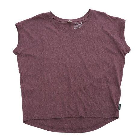 ゴーヘンプ SUNNYROUNDTEE Tシャツ GHC4252RG18 ACAI P (Lady's)