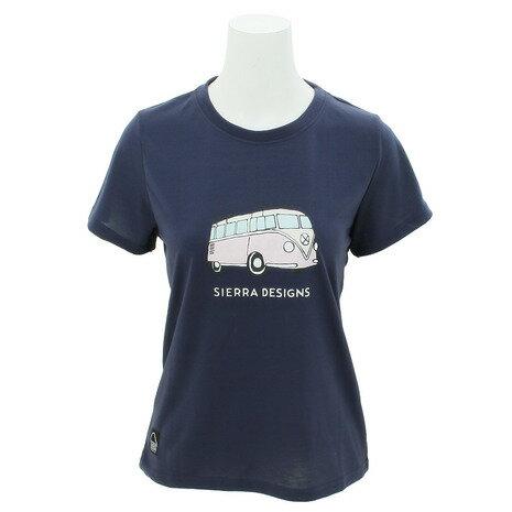 シェラデザインズ(SIERRA DESIGNS) 防虫 バスTシャツ 20923260-30.NVY (Lady's)