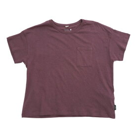 ゴーヘンプ WIDEPKTEE Tシャツ GHC4290RG18 ACAI P (Lady's)