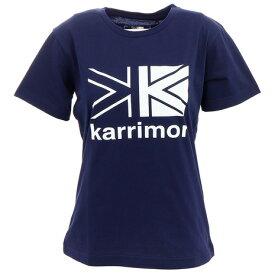 【クーポン配布中! 10/30はポイント5倍〜 要エントリー&楽天カード決済】 カリマー(karrimor) ビッグ ロゴ Ws Tシャツ 3T01WBJ2 Dark Navy (レディース)