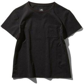 ノースフェイス(THE NORTH FACE) 送料無料(対象外地域有)ショートスリーブエアリーポケットTシャツ NTW11968 K (Lady's)