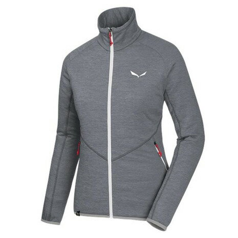 サレワ(SALEWA) PUEZ MELANGE PL W FULL-ZIP 26536 0531 QUIET SHADE ウィメンズ 長袖シャツ (Lady's)