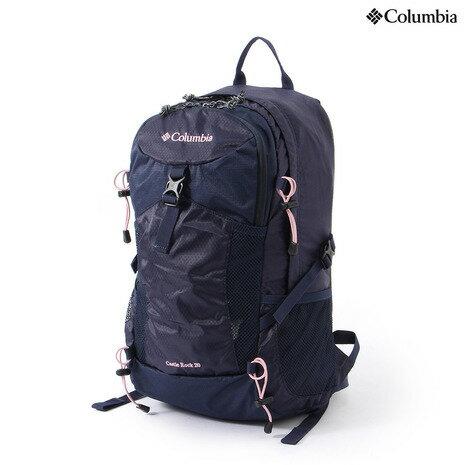 コロンビア(Columbia) キャッスルロック20L バックパック Castle Rock 20L Backpack PU8035 966 Eclipse Blue,Pink ディパック (Men's、Lady's)