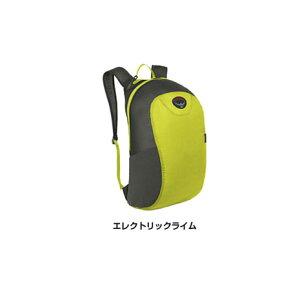 【P+5倍要エントリー&カード決済 ゴールド会員以上P10倍 8/10限定】 オスプレー(OSPREY) ウルトラライトスタッフパック Ultralight Stuff Pack OS58002003 エレクトリックライム バックパック 軽量 (