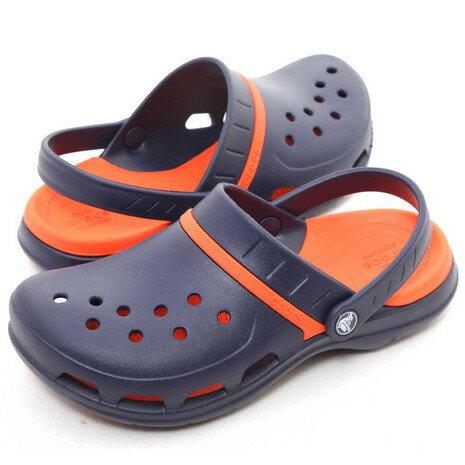 クロックス(crocs) モディ スポーツ クロッグ MODI SPORT CLOGS NAVY / TANGERINE メンズ サンダル 204143-4V9 (Men's)