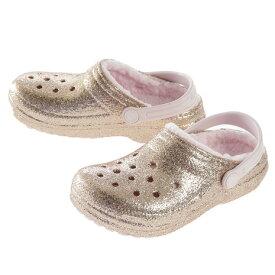 クロックス(crocs) ジュニア Classic Glitter Lined Clog 205937-2UB (メンズ、レディース、キッズ)