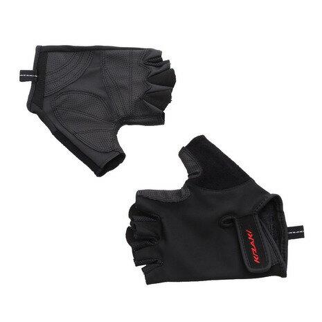 キザキ(KIZAKI) ウォーキングポール専用グローブ 手袋 AAK-003 BLK (Men's、Lady's)