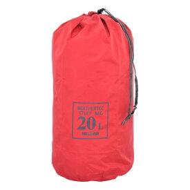 イスカ(ISUKA) ウェザーテック スタッフバッグ 20サイズ:3534-19 レッド 防水 (メンズ、レディース)