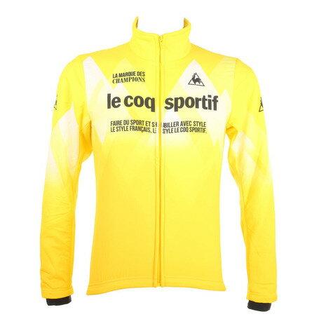 ルコック スポルティフ(Lecoq Sportif) コンビネーションアウター メンズ 男性用 ジャケット 自転車ウエア QC-580163 CRY イエロー (Men's)
