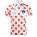 ルコック スポルティフ(Lecoq Sportif) ツールドフランスレプリカシャツ メンズ 男性用 自転車ウェア ジャージ QC-7406TDF WRD (M...