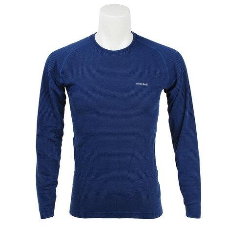 モンベル(mont-bell) ジオライン M.W. ラウンドネックシャツ Men's サイクルアンダーウェア 1107282 IND (Men's)