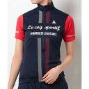 ルコック スポルティフ(Lecoq Sportif) 半袖ジャージ レディース 女性用 自転車 ウェア QC-746471 NVY (Lady's)