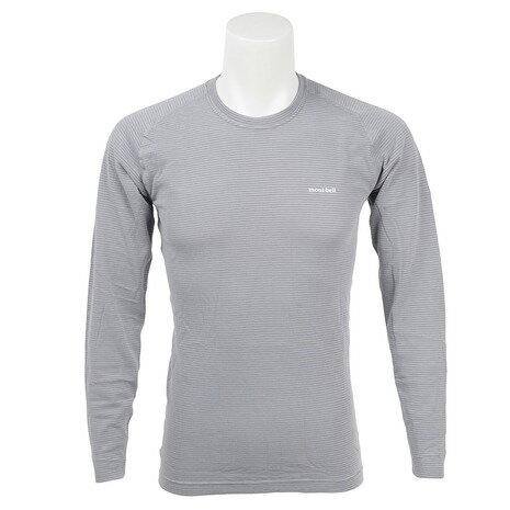 モンベル(mont-bell) ジオライン M.W. ラウンドネックシャツ Men's サイクルアンダーウェア 1107282 LTSV (Men's)
