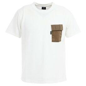【クーポン配布中!スーパーセール期間限定】リンプロジェクト(rin project) ミリタリー4ポケットTシャツ 2166 WHITE (メンズ)
