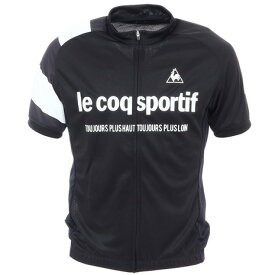 ルコック スポルティフ(Lecoq Sportif) JERSEY 半袖Tシャツ QCMQGA41 BKW (メンズ)