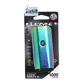 レザイン(LEZYNE) ライト LITE DRIVE 1000XL 57-3502210051 NEO METALLIC (メンズ、レディース、キッズ)