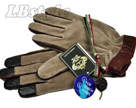 手袋 オロビアンコ 手袋 Orobianco 手ぶくろ 綿・ポリエステル・羊革 23-24cm タッチパネル対応 スマートフォン スマホ対応 手袋 Orobianco 200-1360