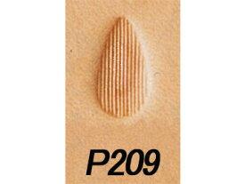ペアーシェーダー P209 13mm【メール便選択可】 [クラフト社] レザークラフト刻印 刻印(G〜Z)/クラフト社