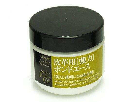 皮革用強力ボンドエース 100g[SEIWA] レザークラフト染料・溶剤・接着剤 接着剤