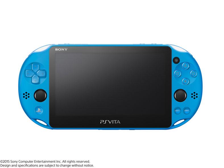 PlayStation Vita (プレイステーション ヴィータ)  Wi-Fiモデル PCH-2000 ZA23 [アクア・ブルー]