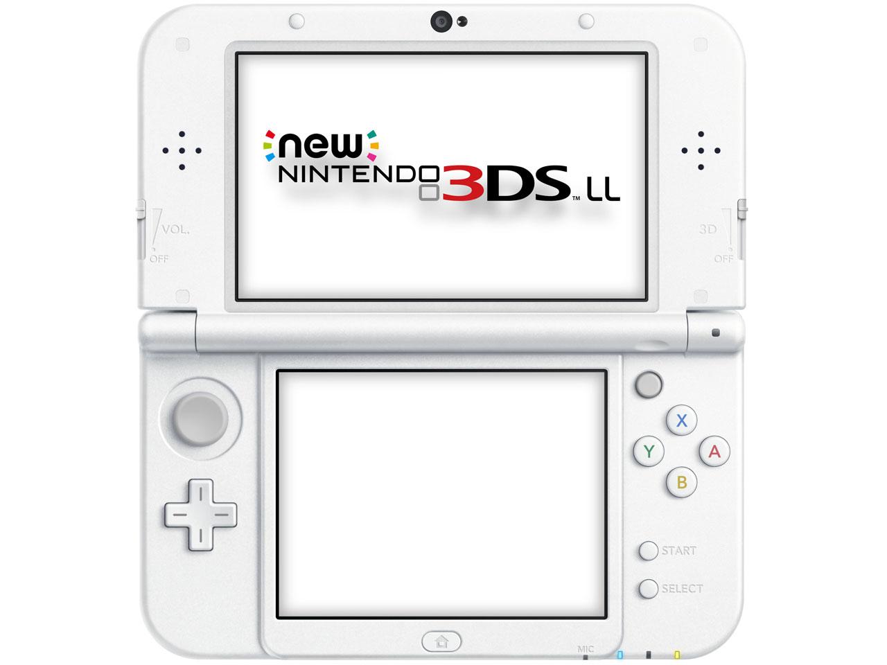 任天堂(Nintendo) Newニンテンドー3DS LL [パールホワイト] 携帯ゲーム機 本体