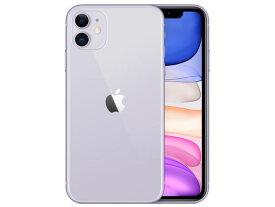 【即納・在庫あり】【アップル版・未開封】Apple(日本)iPhone 11 64GB SIMフリー [パープル] 本体