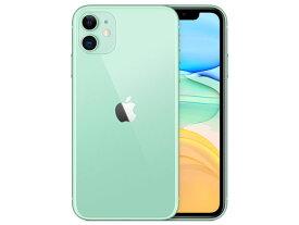 【即納・在庫あり】【アップル版・未開封】Apple(日本)iPhone 11 64GB SIMフリー [グリーン] 本体