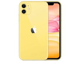 【即納・在庫あり】【アップル版・未開封】Apple(日本)iPhone 11 128GB SIMフリー [イエロー] 本体