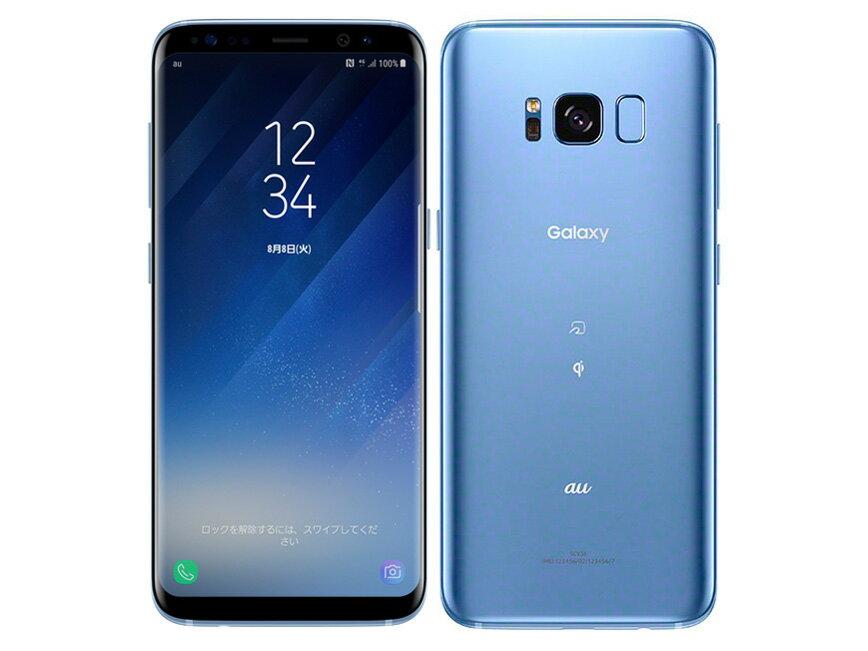 【新品・未使用】 Galaxy S8 SCV36 SIMロック解除済 au 白ロム 格安スマホ  ネットワーク○ 2017年夏モデル