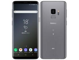 Galaxy S9 SCV38 [チタニウム グレー] 本体 SIMロック解除済 au 白ロム サムスン(SAMSUNG) JAN:4941787064204