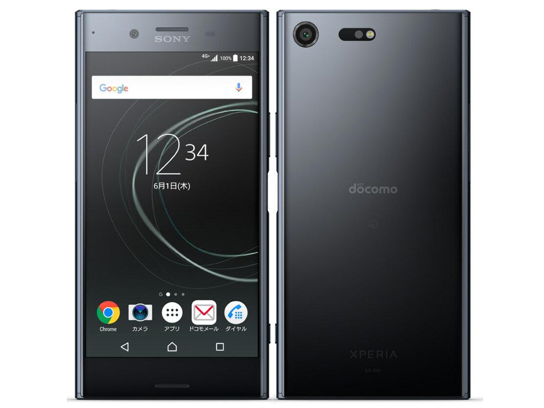 【新品・未使用】 Xperia XZ Premium SO-04J [Deepsea Black]docomo 白ロム スマートフォン 格安スマホ SIMロック解除済