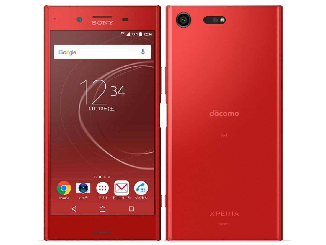 【新品・未使用】 Xperia XZ Premium SO-04J [Rosso]SIMロック解除済 docomo 白ロム スマートフォン 格安スマホ