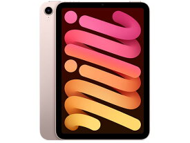 【新品・送料無料・即納・在庫あり】APPLE iPad mini 第6世代 Wi-Fi 64GB MLWL3J/A(IPAD MINI WI-FI 64GB PINK) ピンク JAN:4549995286014