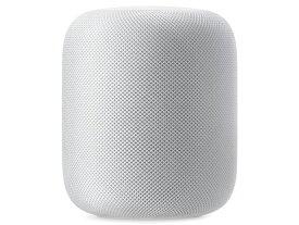 【即納・在庫あり・5%還元対象】Apple、円筒形スマートスピーカーHomePod MQHV2J/A [ホワイト] JAN:4549995018332
