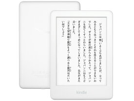 【新品】Kindle 4GB Wi-Fi (2019) [ホワイト] Amazon 電子書籍リーダーJAN:841667177212 ※amazon保証対象外