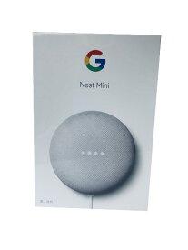 【即納・在庫あり・5%還元対象】Google スマートスピーカーGoogle Nest Mini [Chalk]※メーカー保証対象外 UPC:193575000794