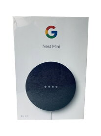 【即納・在庫あり】Google スマートスピーカーGoogle Nest Mini [Charcoal]※メーカー保証対象外 UPC:193575000879