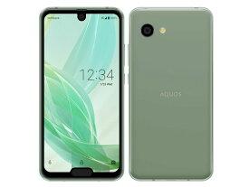 AQUOS R2 compact [スモーキーグリーン] 白ロム SIMロック解除済 SoftBank 2018年冬モデル JAN:4549046082114